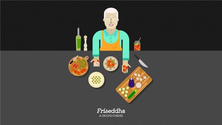 Ricette scumbenate • Friseddha a occhi chiusi // Laboratorio del Gusto